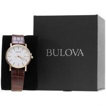 Relógio Masculino Bulova Analógico - Resistente à Água WB 21687 B