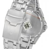 b0f20b1b6f7 Relógio Masculino Bulova Analógico WB21632T Aço com fundo preto -