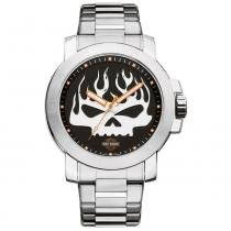 Relógio Masculino Bulova Harley Davidson Analógico WH30135T -