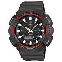 Relógio Masculino Casio AD-S800WH-4AVDF - Anadigi Resitente à Água com Calendário