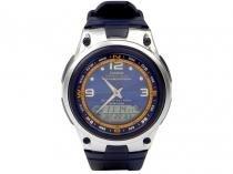 Relógio Masculino Casio Anadigi  - AW 82 2AVDF Azul
