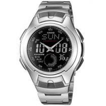 Relógio Masculino Casio Anadigi - Resistente à Água AQ-160WD-1BV