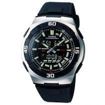 Relógio Masculino Casio Anadigi - Resistente à Água AQ 164W 1AVD