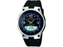 Relógio Masculino Casio Anadigi - Resistente à Água AW 82 1AVDF