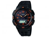 Relógio Masculino Casio Anadigi - Resistente à Água Cronômetro AQ-S800W-1B2VDF