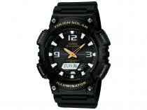 Relógio Masculino Casio Anadigi - Resistente à Água Cronômetro AQ-S810W-1BVDF