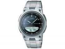 Relógio Masculino Casio Anadigi  - Resistente à Água Cronômetro AW-80D-1AVDF