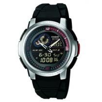 Relógio Masculino Casio Anadigi - Resistente à Água Mundial AQF 102W 1BV