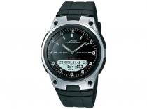 Relógio Masculino Casio Anadigi - Resistente à Água Mundial AW-80-1AVDF