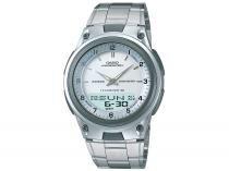 Relógio Masculino Casio Anadigi - Resistente à Água Mundial AW-80D-7AVDF