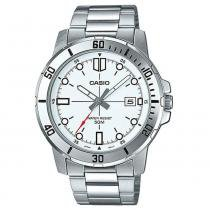 c721ff4362e Relógio Masculino Casio Analógico MTP-VD01D-7E - Prata -