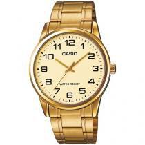 Relógio Masculino Casio Analógico - Resistente à Água Collection MTPV001G9BUDF