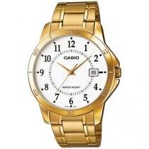 Relógio Masculino Casio Analógico - Resistente à Água Collection MTPV004G7BUDF