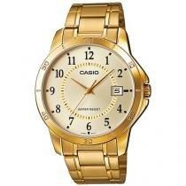 Relógio Masculino Casio Analógico - Resistente à Água Collection MTPV004G9BUDF