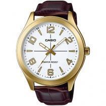 Relógio Masculino Casio Analógico - Resistente à Água Collection MTPVX01GL7BUDF