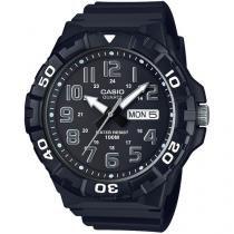 Relógio Masculino Casio Analógico - Resistente à Água MRW-210H-1AVDF