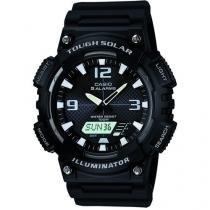 Relógio Masculino Casio AQ-S810W-1AVDF - Anadigi com Cronômetro e Calendário