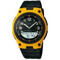 Relógio Masculino Casio AW-80-9BVDF - Anadigi com Cronômetro e Calendário