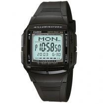 Relógio Masculino Casio Data Bank DB 36 1AVDF - Digital com Cronômetro Resistente à Água