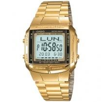 Relógio Masculino Casio Digital  - DB-360G-9ADF Dourado