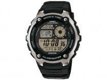 Relógio Masculino Casio Digital Esportivo AE-2100W-1AVDF Preto