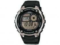 Relógio Masculino Casio Digital - Resistente à Água AE-2100W-1AVDF