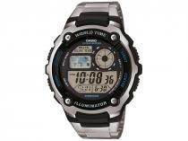 Relógio Masculino Casio Digital - Resistente à Água AE-2100WD-1AVDF
