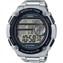 Relógio Masculino Casio Digital - Resistente à Água AE-3000WD-1AVDF