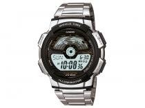 Relógio Masculino Casio Digital - Resistente à Água Cronômetro AE-1100WD-1AVDF