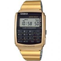 Relógio Masculino Casio Digital - Resistente à Água Cronômetro CA-506G-9ADF