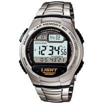 Relógio Masculino Casio Digital  - Resistente à Água W-734D-1AV