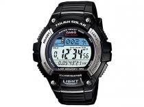 Relógio Masculino Casio Digital   - Resistente à Água W-S220-1AV