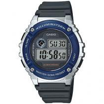 Relógio Masculino Casio Digital - Resitente à Água W-216H-2AVDF