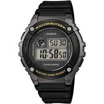 Relógio Masculino Casio W-216H-1BVDF - Digital Resitente à Água com Calendário