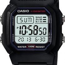338812ef0da68 Relogio Masculino Casio W-800H-1AVDF - Preto -
