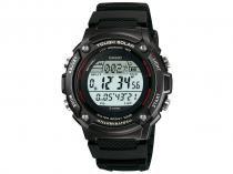 Relógio Masculino Casio W-S200H-1BVDF - Digital Resistente à Água Cronômetro Calendário