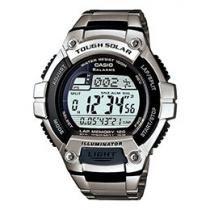 Relógio Masculino Casio W-S220D Digital Cronógrafo - Recarregável c/ Energia Solar Resistente à Água