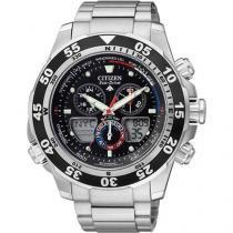 Relógio Masculino Citizen Anadigi - Resistente à Água Cronógrafo TZ28119T