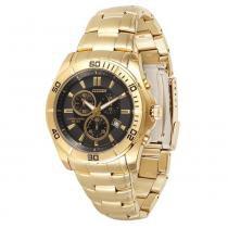 Relógio Masculino Citizen Analógico TZ30053U - Dourado - Único - Citizen