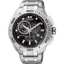 Relógio Masculino Citizen Eco Drive TZ30124T - Analógico Resistente à Água Calendário