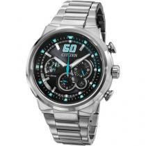 Relógio Masculino Citizen Eco Drive TZ30688F - Analógico Resistente à Água Cronógrafo Calendário