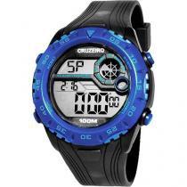 Relógio Masculino Clubes Technos Digital Casual Cruzeiro Casual CRU1360B/8A - Technos