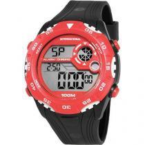 Relógio Masculino Clubes Technos Digital Casual Internacional INT1360/8R -