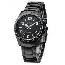 Relógio masculino curren analógico casual 8107 branco - Curren