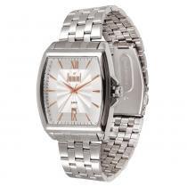 Relógio Masculino Dumont Analógico DU2115BA5K - Prata - Único -