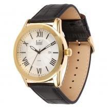 Relógio Masculino Dumont Analógico DU2115BT/3K - Dourado - Único - Dumont