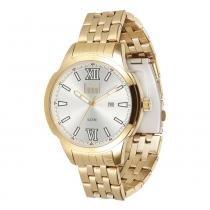 Relógio Masculino Dumont Analógico DU2115DB/4K - Dourado - Único - Dumont