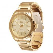 Relógio Masculino Dumont Analógico DU2315AM4D - Dourado - Único - Dumont