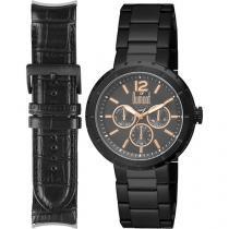 Relógio Masculino Dumont DU6P29ABM/4C Analógico - Resistente à Água Troca Pulseira