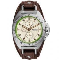 Relógio Masculino Fossil Analógico - Resistente à Água Cronógrafo CH3004/0XN
